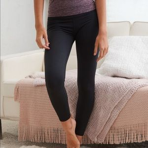 aerie Play Leggings Medium Black